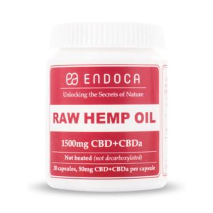CBD Capsules 1500mg Endoca