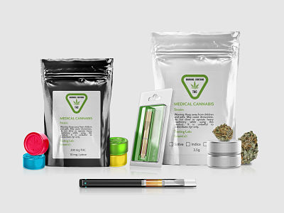 MEdical Cannabis Products and Packaging
